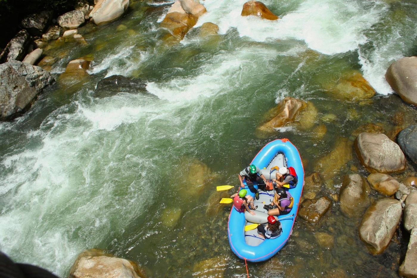 Rafting Tena